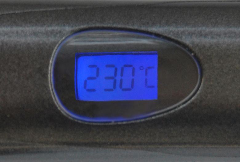 デジタル温度表示&温度メモリー機能搭載